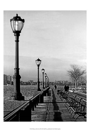 Battery Park City III by Jeff Pica art print