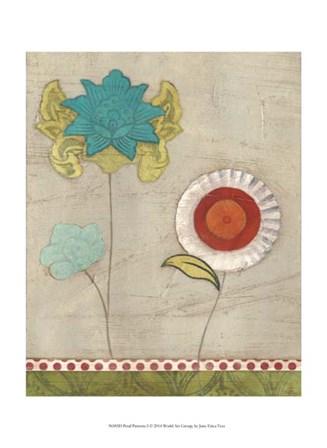 Petal Patterns I by June Erica Vess art print