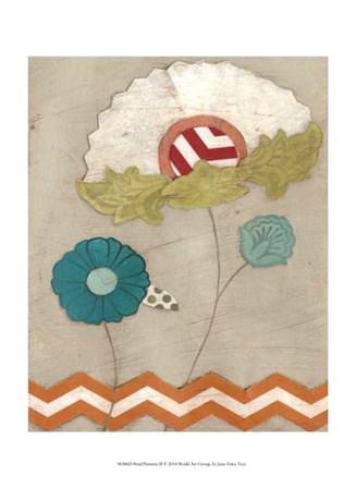 Petal Patterns II by June Erica Vess art print