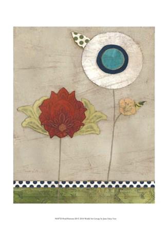 Petal Patterns III by June Erica Vess art print