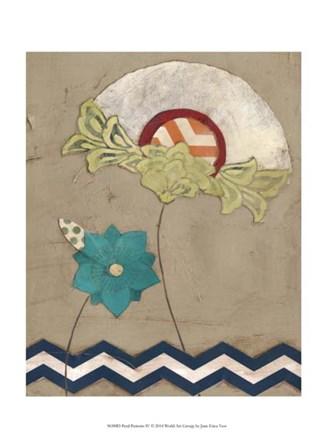Petal Patterns IV by June Erica Vess art print