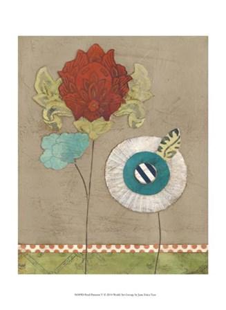 Petal Patterns V by June Erica Vess art print