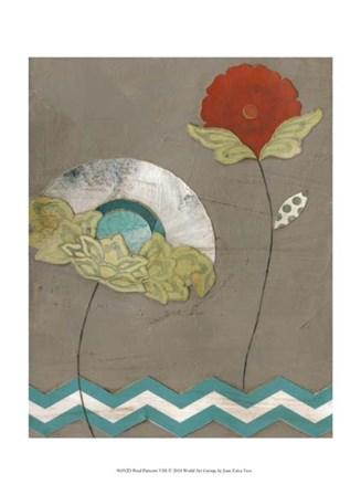 Petal Patterns VIII by June Erica Vess art print
