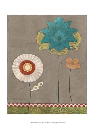 Petal Patterns IX by June Erica Vess art print