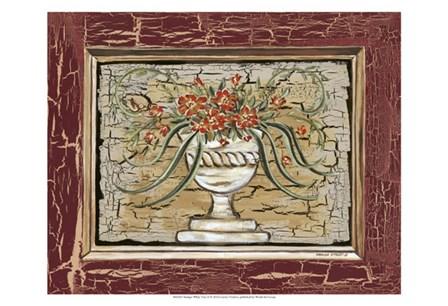 Antique White Vase II by Carolee Vitaletti art print