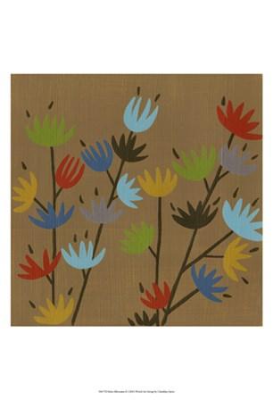Retro Blossoms II by Chariklia Zarris art print