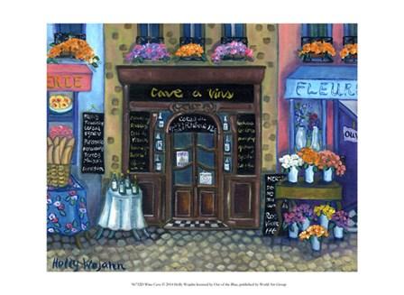 Wine Cave by Holly Wojahn art print