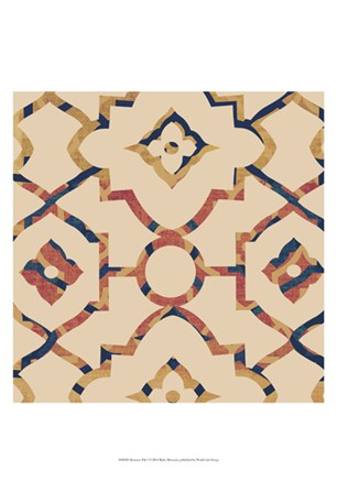 Morocco Tile I by Ricki Mountain art print