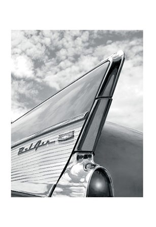 '57 Fin by Richard James art print