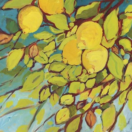 The Lemons Above by Jennifer Lommers art print