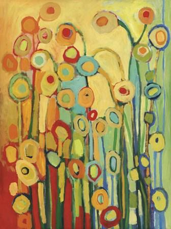 Dance of the Poppy Pods by Jennifer Lommers art print