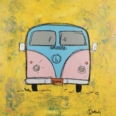 Van by Brian Nash art print