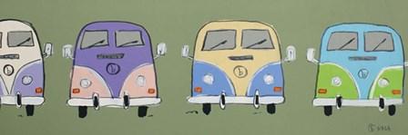 Line 'Em Up by Brian Nash art print