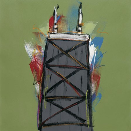 Chicago Tower by Brian Nash art print