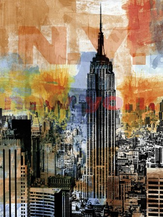 New York Edge by Sven Pfrommer art print