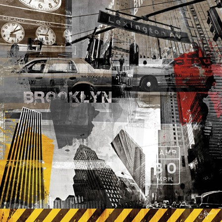 New York Streets II by Sven Pfrommer art print