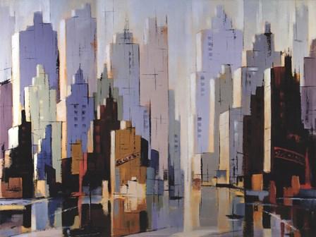 Urbania 3 by Robert Seguin art print