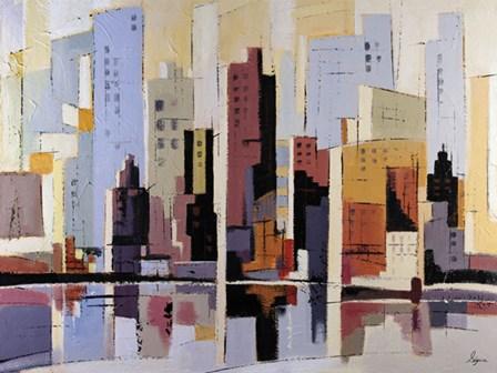 Urbania 4 by Robert Seguin art print