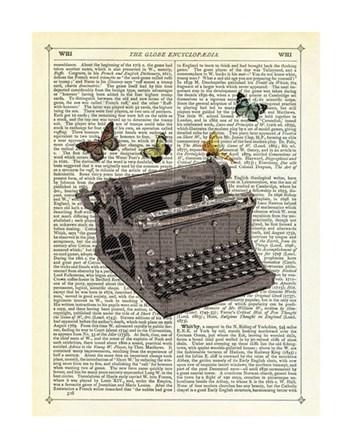 Typewriter by Marion McConaghie art print