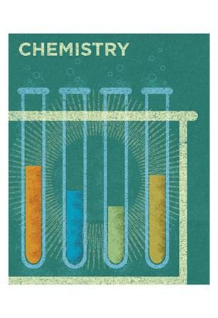 Chemistry by John W. Golden art print