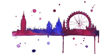 London Baby by Jessica Durrant art print
