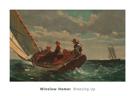 Breezing Up (A Fair Wind), 1873-1876 by Winslow Homer art print
