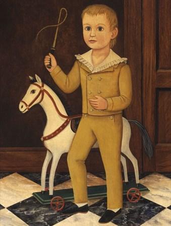 Boy with Horse by Diane Ulmer Pedersen art print