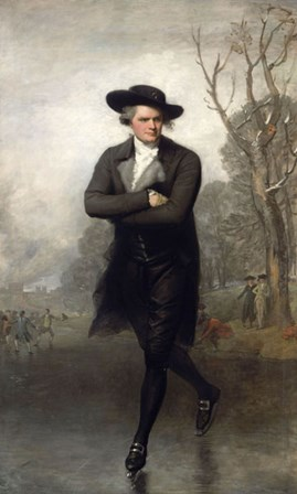 Skater by Gilbert Stuart art print