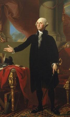George Washington (Lansdowne Portrait), 1796 by Gilbert Stuart art print