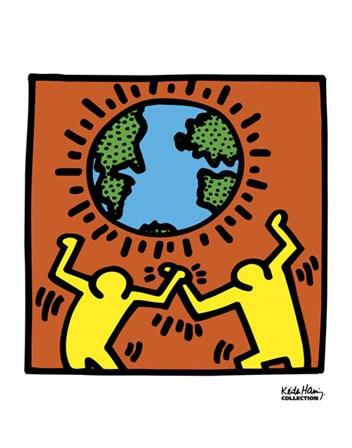 KH02 by Keith Haring art print