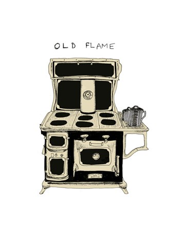 Old Flame by Urban Cricket art print