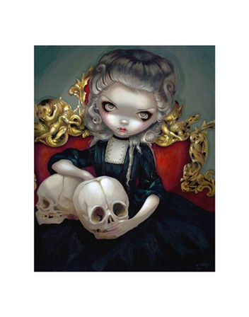 Les Vampires Les Cranes by Jasmine Becket-Griffith art print