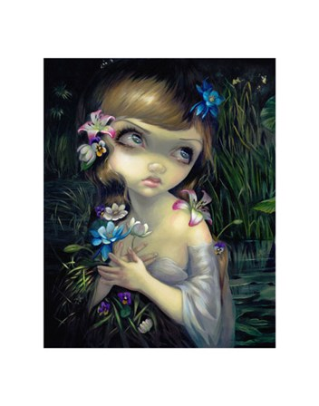 Portrait of Ophelia by Jasmine Becket-Griffith art print