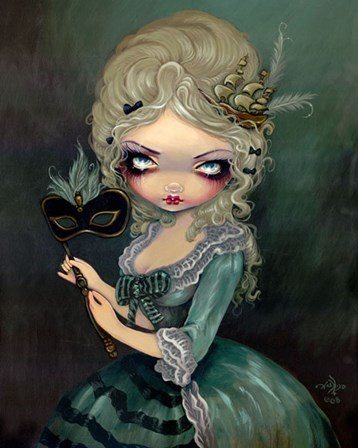Marie Masquerade by Jasmine Becket-Griffith art print