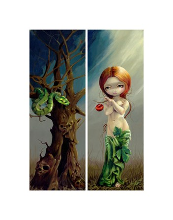 Eve and the Tree of Knowledge by Jasmine Becket-Griffith art print