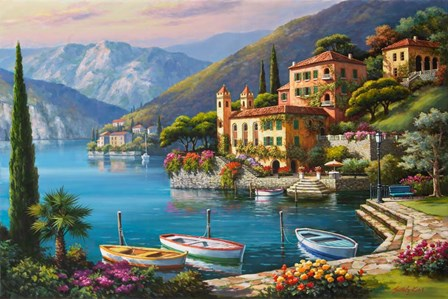 Villa Bella Vista by Sung Kim art print