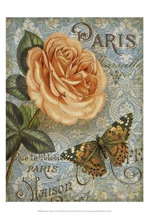 Memories of Paris I by Abby White art print