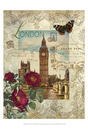Eternal London by Abby White art print