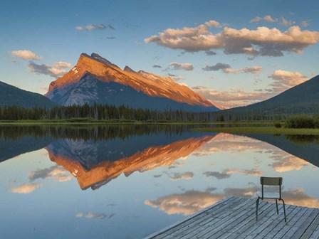 Banff National Park by Yiming Hu art print