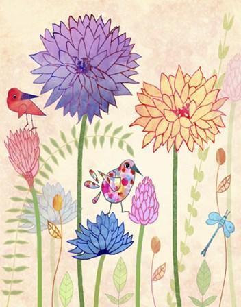 All-A-Flutter II by Jill Meyer art print