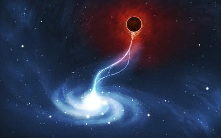 Black Hole by Vlad Gerasimov/Stocktrek Images art print