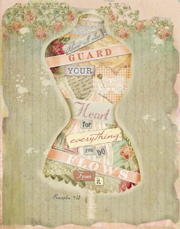 Guard Your Heart II by Beth Albert art print