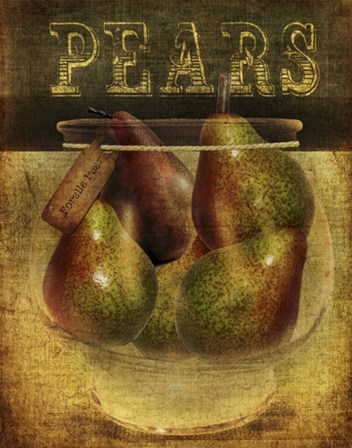 Pears by Beth Albert art print