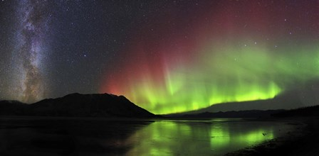 Aurora Borealis, Milky Way and Big Dipper by Joseph Bradley/Stocktrek Images art print