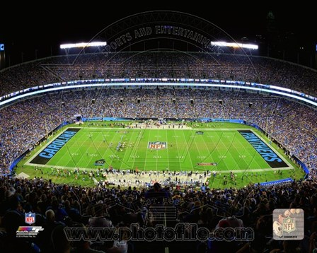 Bank of America Stadium 2014 art print