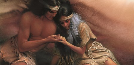 Kindred Souls by Lee Bogle art print