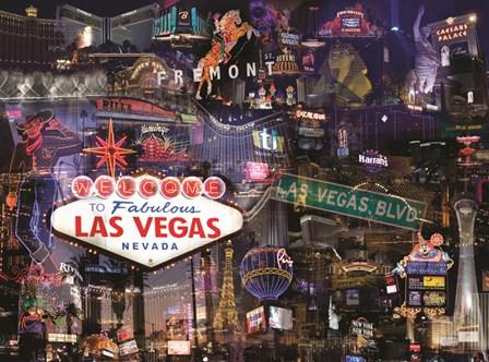 Vegas Baby by Giesla Hoelscher art print