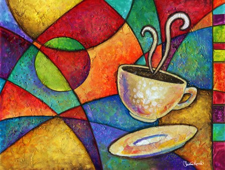 Midnight Coffee by Christine Kerrick art print