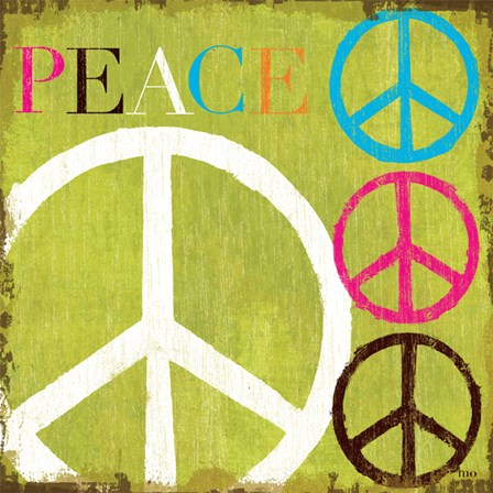 Peace by Mo Mullan art print