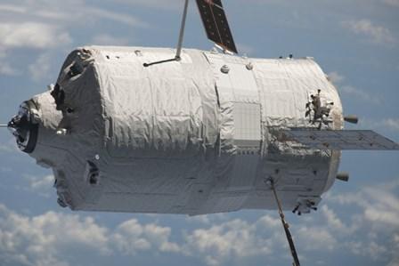 The Edoardo Amaldi Automated Transfer Vehicle-3 resupply Spacecraft by Stocktrek Images art print